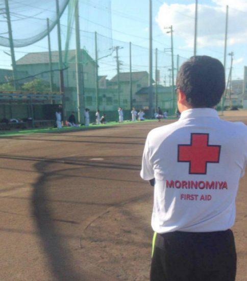 高校の野球部をサポート
