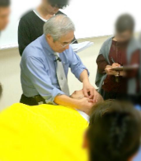 藤川先生 「耳介療法入門」学術研修会