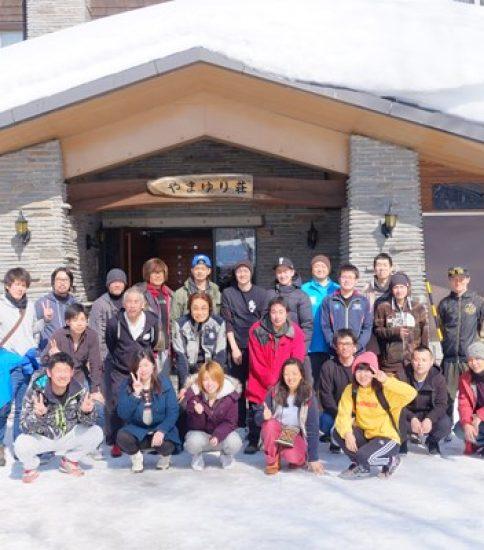 学生会との共催でスキー・スノボ旅行を開催しました