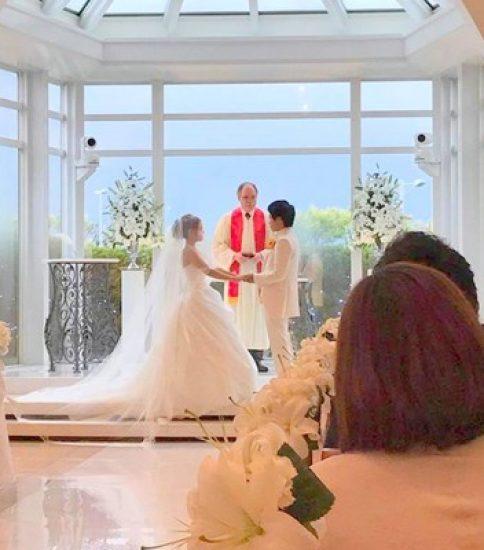卒業生の結婚式に参加してきました