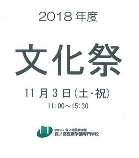 11/3(土・祝)専門学校 文化祭